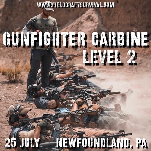 Gun Fighter Carbine Level 2: 25 July 2021 (Newfoundland, PA)