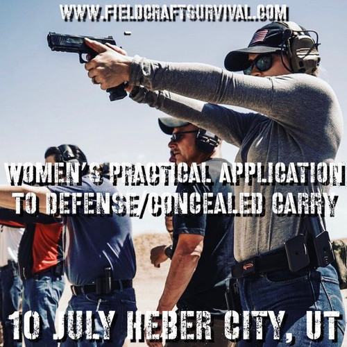Womens Practical Application to Defense/Concealed Carry: 10 July 2021 (Heber City, UT (HQ))