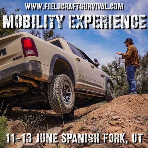 Mobility Experience: 11-13 June 2021 (Spanish Fork, UT)