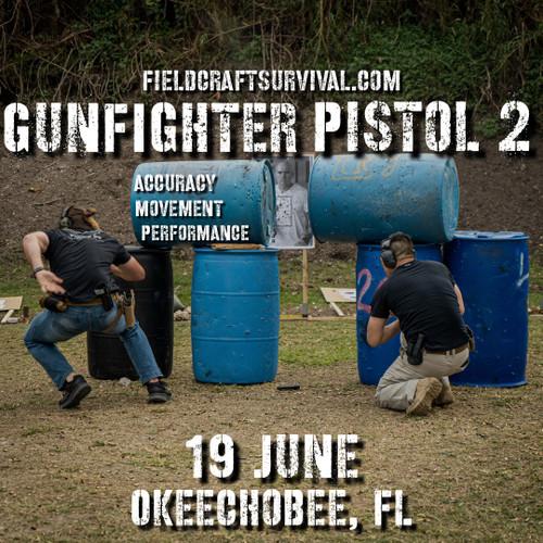 Gun Fighter Pistol Level 2: 19 June 2021 (Okeechobee, FL)