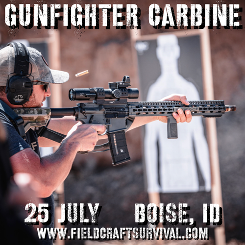 Gun Fighter Carbine Level 1: 25 July 2021 (Boise, ID)