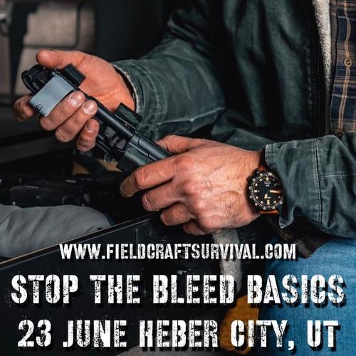Stop the Bleed Basics: 23 June 2021 (Heber City, UT (HQ))