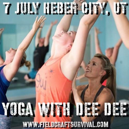 Yoga with Dee Dee: 7 July 2021 (Heber City, UT (HQ))