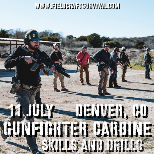 Gunfighter Carbine: Skills and Drills: 11 July 2021 (Wiggins, CO)