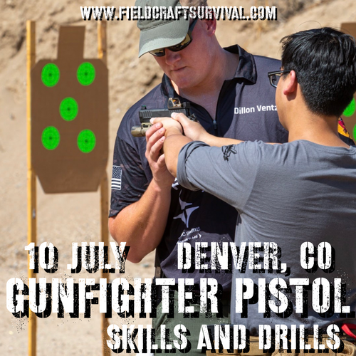 Gunfighter Pistol: Skills and Drills: 10 July 2021 (Wiggins, CO)