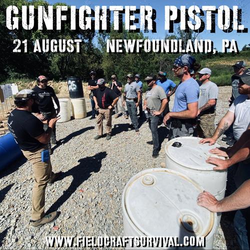 Gun Fighter Pistol Level 1: 21 August 2021 (Newfoundland, PA)