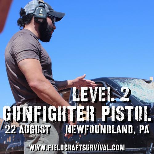 Gun Fighter Pistol Level 2: 22 August 2021 (Newfoundland, PA)