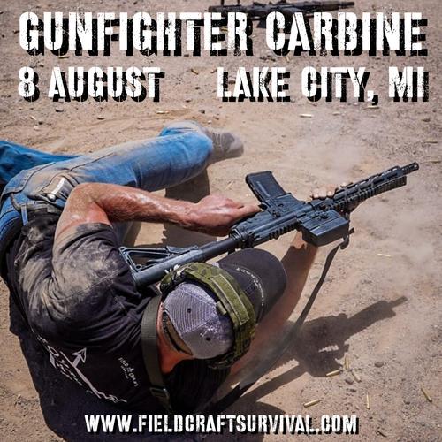 Gun Fighter Carbine Level 1: 8 August 2021 (Lake City, MI)
