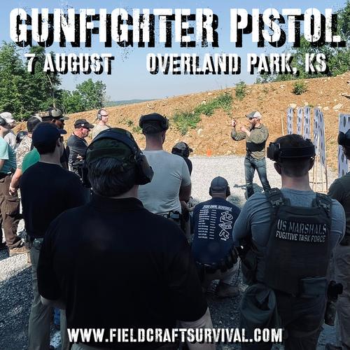 Gun Fighter Pistol Level 1: 7 August 2021 (Overland Park, KS)