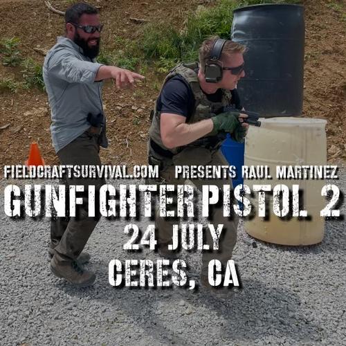 Gun Fighter Pistol Level 2: 24 July 2021 (Ceres, CA)