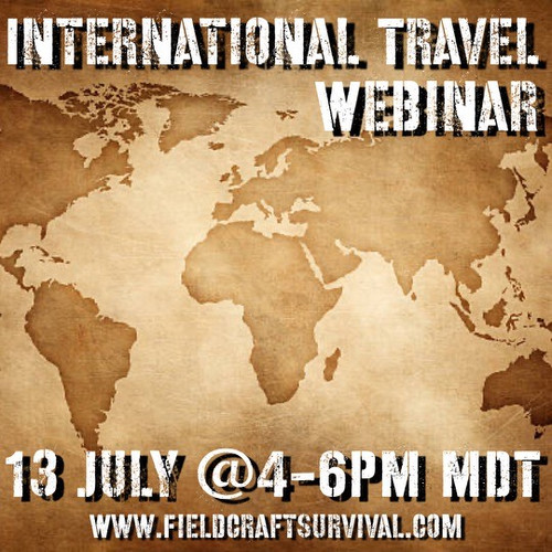 International Travel Webinar: 13 July 2021 (Webinar)