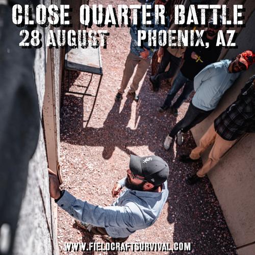 Close Quarters Battle Level 1: 28 August 2021 (Phoenix, AZ)