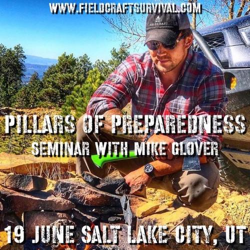 Pillars of Preparedness Seminar with Mike Glover: 19 June 2021 (Salt Lake City, UT at Black Rifle Coffee Company)