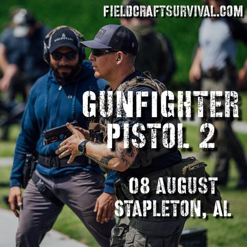 Gun Fighter Pistol Level 2: 8 August 2021 (Stapleton, AL)