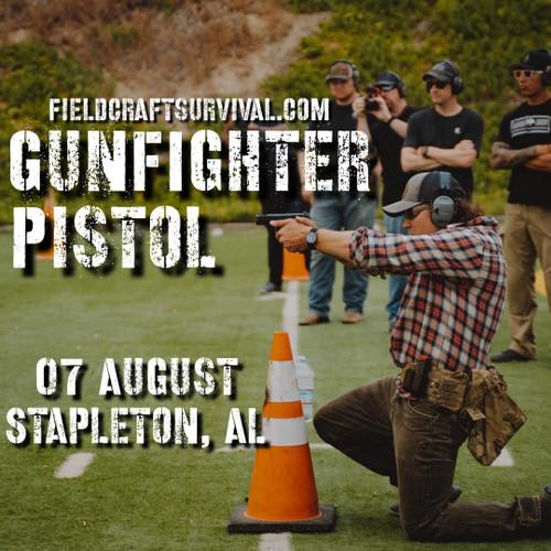 Gun Fighter Pistol Level 1: 7 August 2021 (Stapleton, AL)
