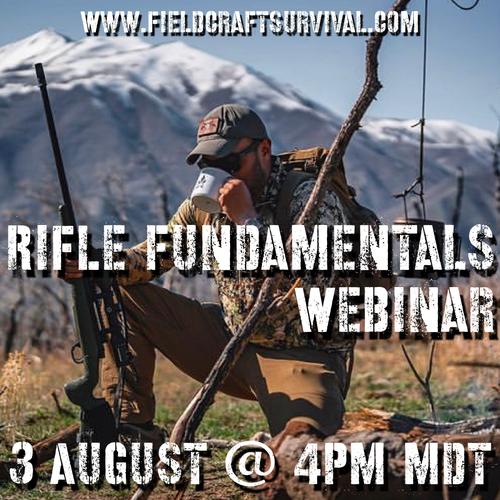 Rifle Fundamentals Webinar: 3 August 2021 (Webinar)