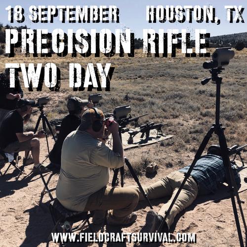 Two Day Precision Rifle : 18 September 2021 (Houston, TX)