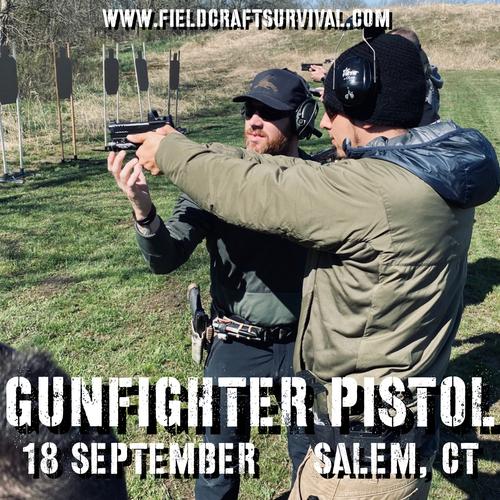 Gun Fighter Pistol Level 1: 18 September 2021 (Salem, CT)