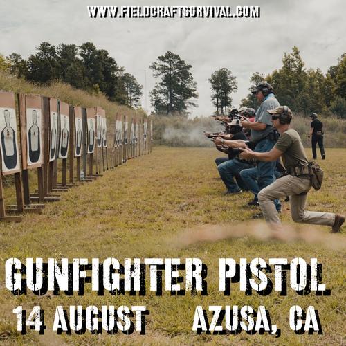 Gun Fighter Pistol Level 1: 14 August 2021 (Azusa, CA)
