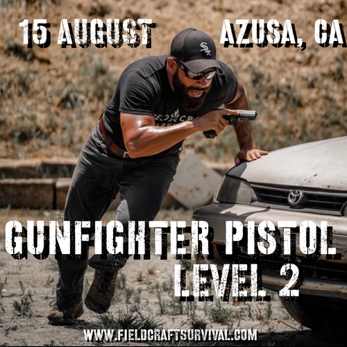 Gun Fighter Pistol Level 2: 15 August 2021 (Azusa, CA)