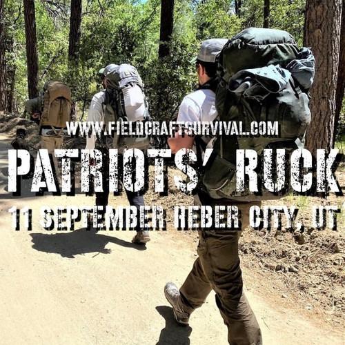 Patriot's Ruck: 11 September 2021 (Heber City, UT (HQ))