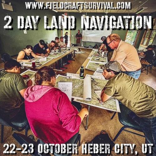 2 Day Land Navigation: 22-23 October 2021 (Heber City, UT (HQ))