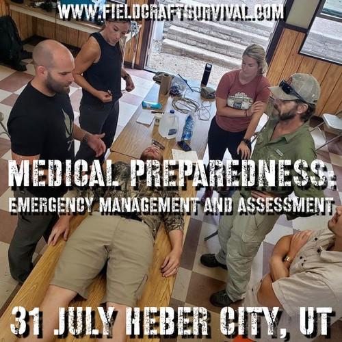 Medical Preparedness: Emergency Management and Assessment: 31 July 2021 (Heber City, UT (HQ))