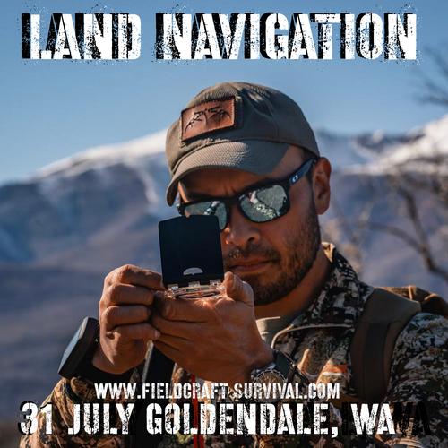 Land Navigation: 31 July 2021 (Goldendale, WA)