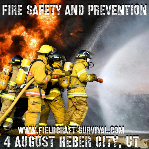 Fire Safety and Prevention in the Home: 4 August 2021 (Heber City, UT (HQ))