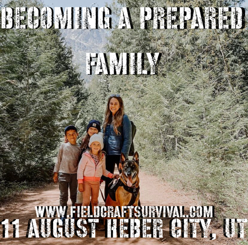 Becoming a Prepared Family: 11 August 2021 (Heber City, UT (HQ))