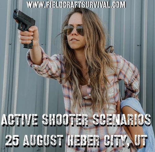 Active Shooter Scenarios: 25 August 2021 (Heber City, UT (HQ))