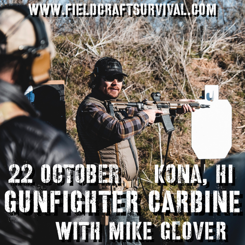 Gun Fighter Carbine Level 1 With Mike Glover: 22 October 2021 (Kona Hawaii)