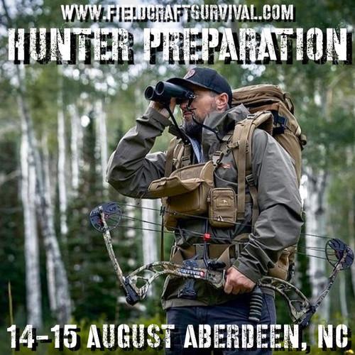 Hunter Preparation: 14-15 August 2021 (Aberdeen, NC)