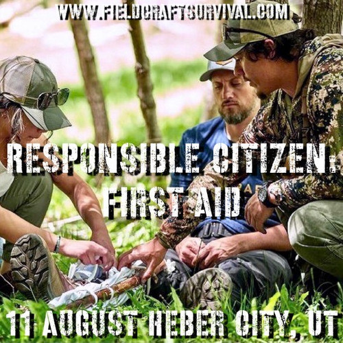 Responsible Citizen: First Aid: 11 August 2021 (Heber City, UT (HQ))