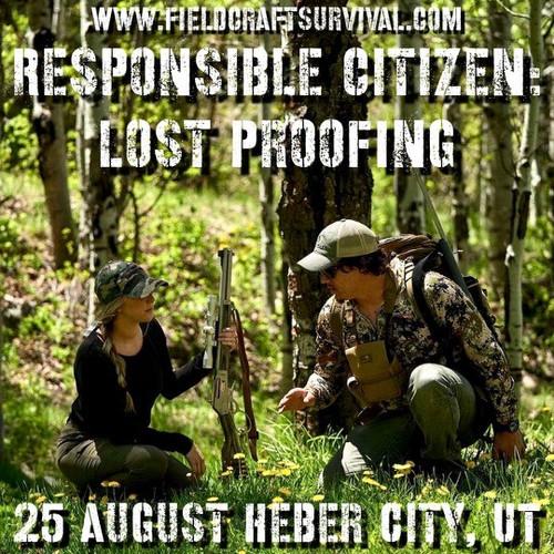 Responsible Citizen: Lost Proofing: 25 August 2021 (Heber City, UT (HQ))