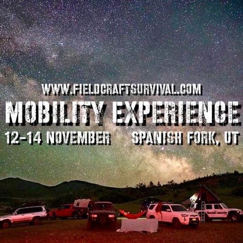 Mobility Experience: 12-14 November 2021 (Spanish Fork, UT)