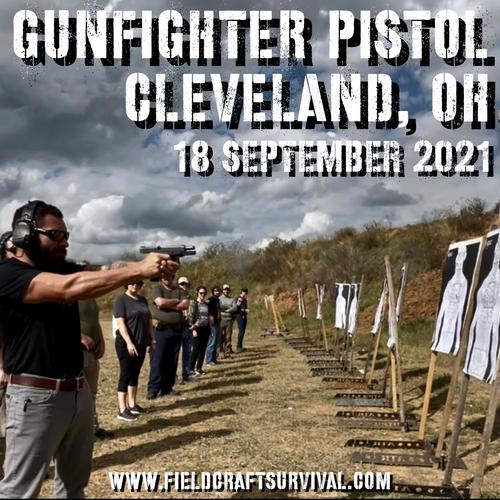 Gun Fighter Pistol Level 1: 18 September 2021 (Cleveland, OH)