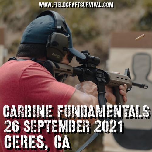 Carbine Fundamentals: 26 September 2021 (Ceres, CA)