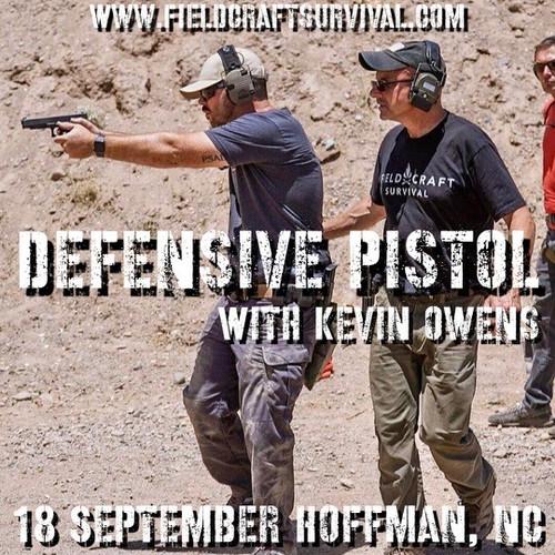 Defensive Pistol: 18 September 2021 (Hoffman, NC)