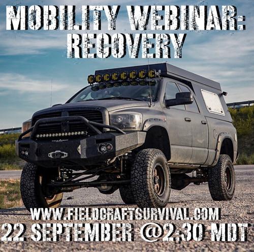 Mobility Webinar: Recovery: 22 September 2021 (Webinar)