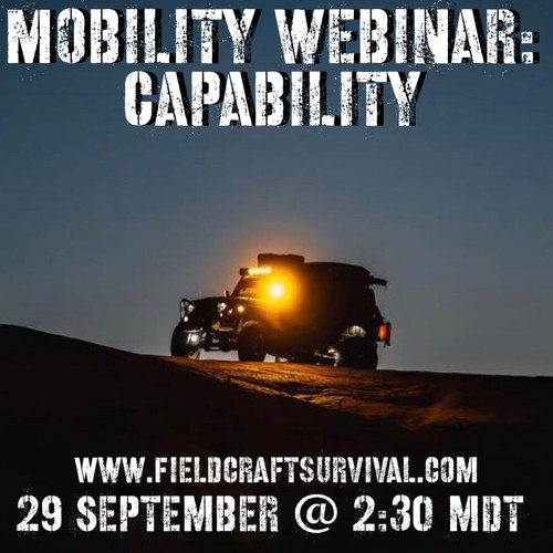 Mobility Webinar: Capability: 29 September 2021 (Webinar)