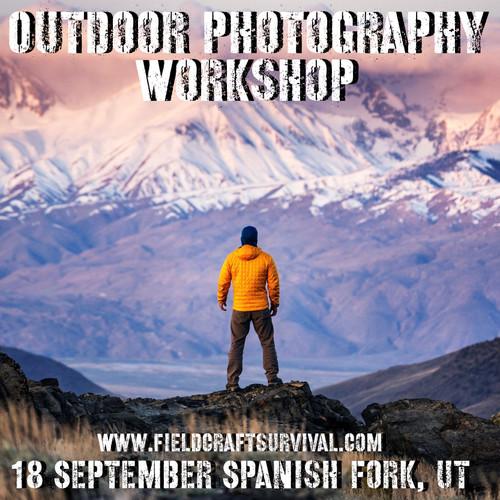 Outdoor Photography Workshop: 18 September 2021 (Spanish Fork, UT)