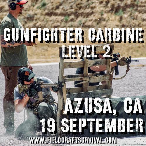Gun Fighter Carbine Level 2: 19 September 2021 (Azusa, CA)