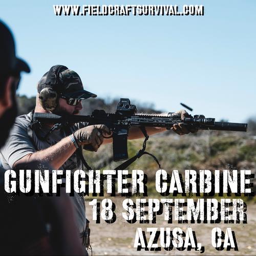 Gun Fighter Carbine Level 1: 18 September 2021 (Azusa, CA)