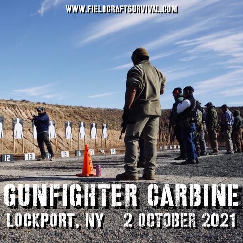 Gun Fighter Carbine Level 1: 3 October 2021 (Lockport, NY)