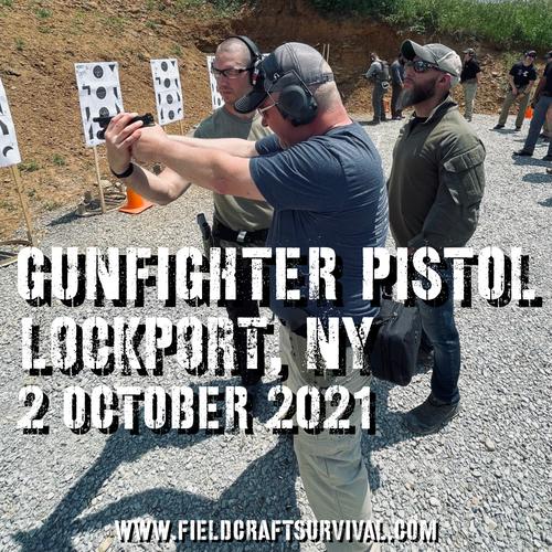 Gun Fighter Pistol Level 1: 2 October 2021 (Lockport, NY)