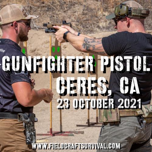 Gun Fighter Pistol Level 1: 23 October 2021 (Ceres, CA)