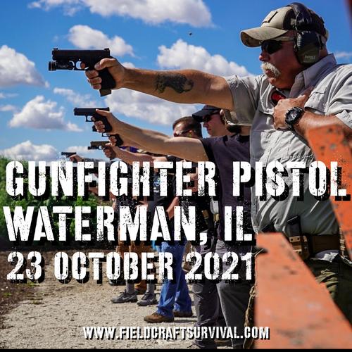 Gun Fighter Pistol Level 1: 23 October 2021 (Waterman, IL)