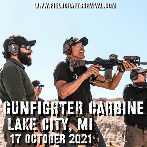 Gun Fighter Carbine Level 1: 17 October 2021 (Lake City, MI)