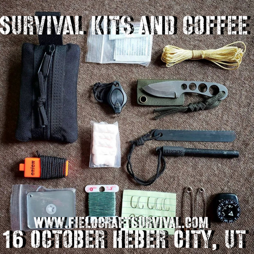 Survival Kits and Coffee: 16 October 2021 (Heber City, UT)